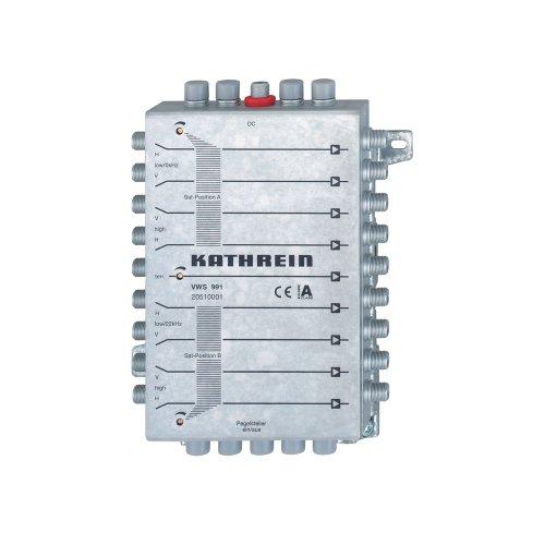 Kathrein VWS 991 Verstärkersystem 8X SAT, 1x terr., Leistung umschaltbar
