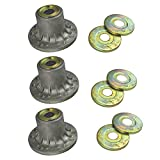 3 Spindle Housing Assemblies With Bearings for: EXMARK 103-8280, 1-634619, 1-323532, 103-2...