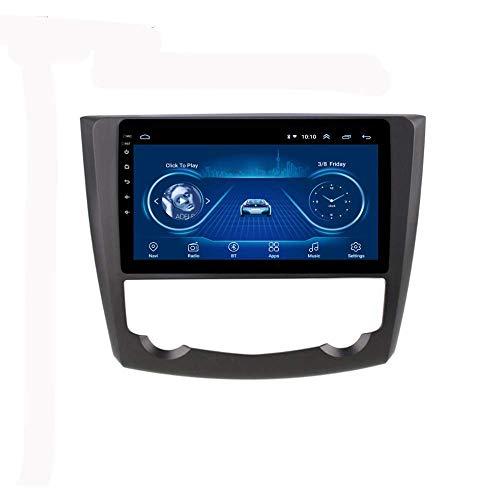 IW.HLMF Car Radio Stereo MP5 Player 9 Pulgadas Android 8.1 Compatible con Renault kadjar 2016-2018, GPS 2.5D Pantalla táctil, WiFi, Mirror Link, Sintonizador de Radio (RAM 2G + ROM 32G)