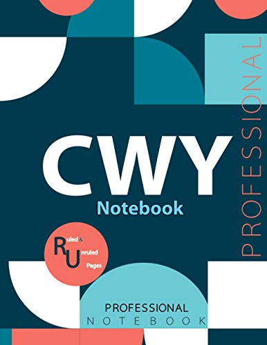 "CWY Notebook, Examination Preparation Notebook, Study writing notebook, Office writing notebook, 140 pages, 8.5"" x 11"", Glossy cover"