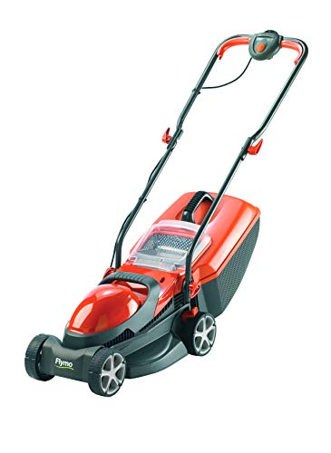 Flymo Chevron 32VC Electric Wheeled Lawnmower - 1200 W, 32 cm, with Rear Roller