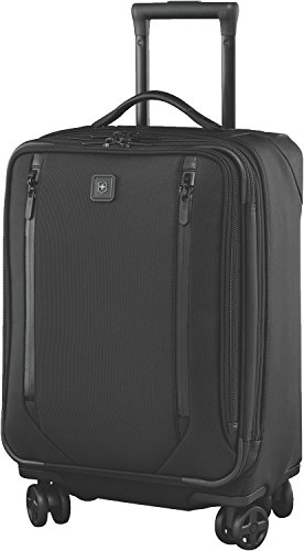 Victorinox Lexicon 2.0 Softside Expandable Spinner Luggage, Black, Carry-On-Global (22')