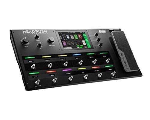 Headrush Pedalboard - Gitarren-Amp- und FX-Multieffektprozessor mit DSP-Software, 7-Zoll-Touchscreen, Expression-Pedal, internem Effektloop, Impulsantwort-Unterstützung und USB-Konnektivität