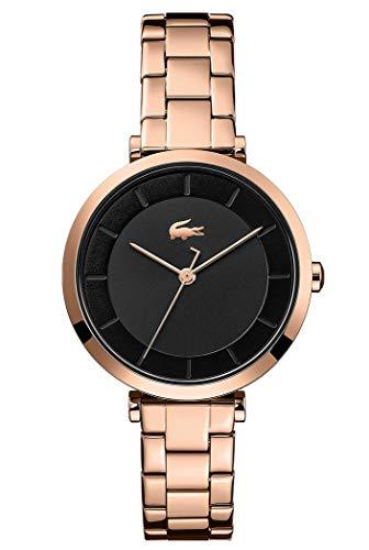 Lacoste Reloj Analógico para Mujer de Cuarzo con Correa en Acero Inoxidable 2001142