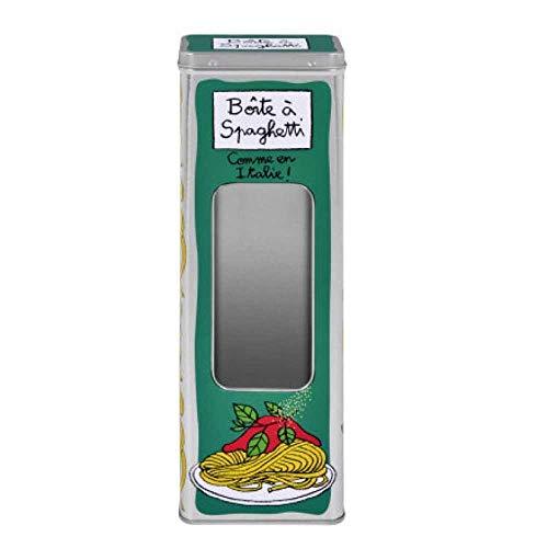 Derrière La Porte Spaghetti Aufbewahrungsdose Wie in Italien Grün [Französische Sprache]