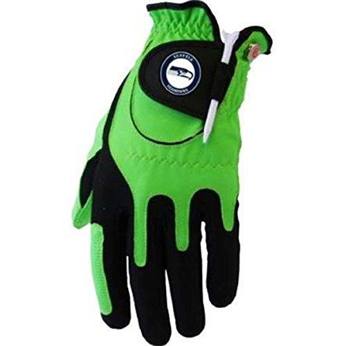 Best Price Zero Friction NFL Golf Glove Left Hand NFL, Golf Glove, LH, Green, Seattle Seahawks