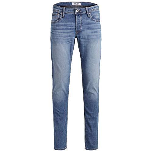 JACK & JONES PLUS JJIGLENN Jjoriginal AM 815 Noos PS Jeans, Bleu Denim, 42W x 30L Homme