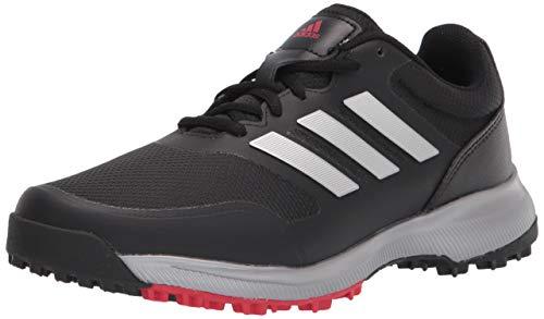 adidas Men's Tech Response Spikeless Golf Shoe, Core Black/Silver...