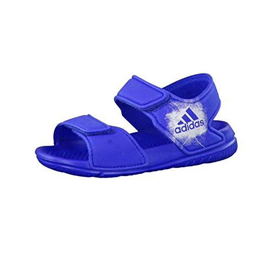 adidas Baby Jungen Altaswim Badeschuhe, Blau (Blue/Ftwr White/Ftwr White), 25 EU