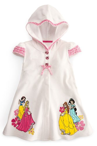 Disney Store Princess Swimsuit Coverup-Jasmine, Belle, Aurora, Snow White (Size Small 5/6)