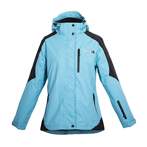 Deproc Active Damen Jacke Outdoor Rokky, Blue/Black, Gr. 38 (S), 54031-335-38