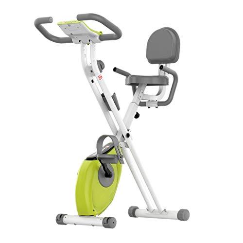 Bicicleta de ejercicios Bicicletas Estáticas, Hogar Controlado Magnéticamente Paso A Paso Bicicletas Estilo De Las Señoras Y Los Hombres De, Aparatos De Gimnasia (Color : Green, Size : 45x75x118cm)