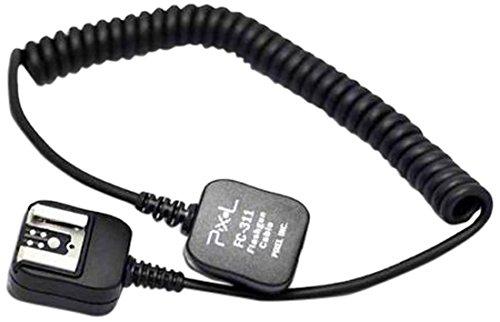 Pixel FC-313/M P-TTL - Cable Extensible Largo para Flash de cámaras Canon