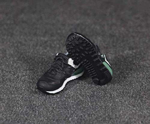 Tytlmask model voor kleding, schaal: 1/6 sportschoenen, zwart, voor vrouwen, zonder voeten, model binnen voor 12 inch (30,5 cm) actiefiguur