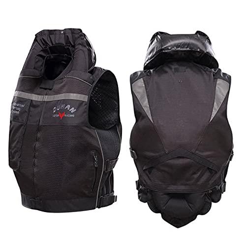 Chaleco Con Airbag Para Hombre Chaleco De Ciclismo Reflectante Adecuado Para Motocicletas Al Aire Libre, Andar En Bicicleta, Montar A Caballo Y Otros Deportes. (No Equipado Con Cartucho De CO2) Equipo