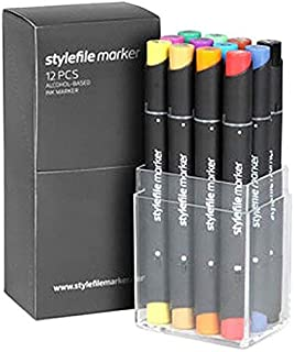 Stylefile Grafikmarker 12er Set A