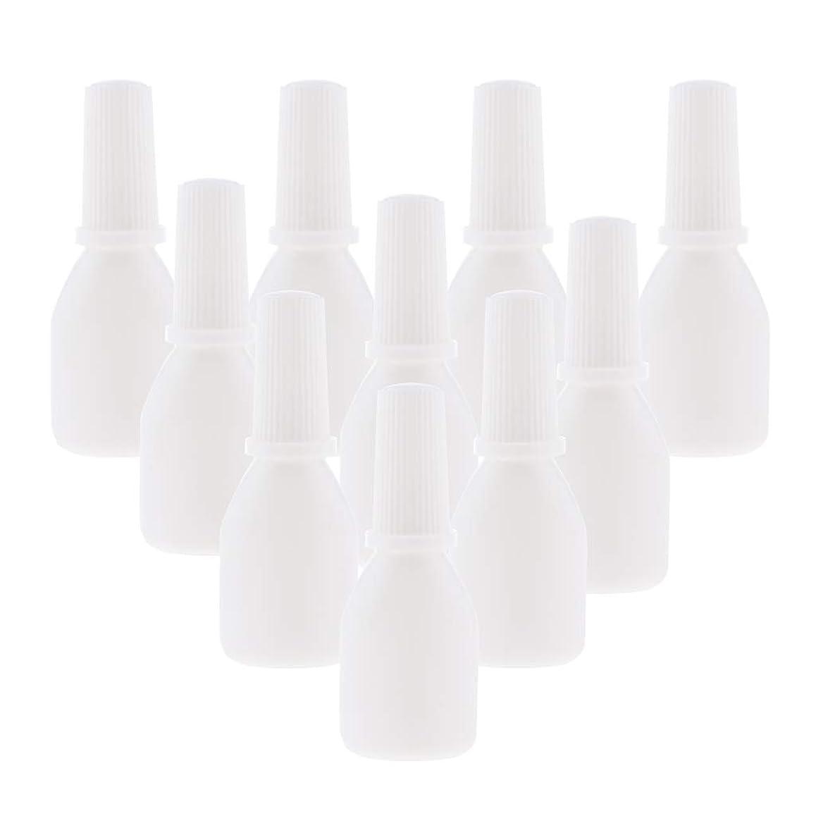 コメンテーター普通のドライブPerfeclan 10個 スプレーボトル 空ボトル 詰め替え容器 小分け用 霧吹き ノズルチップ付 旅行用容器 20g