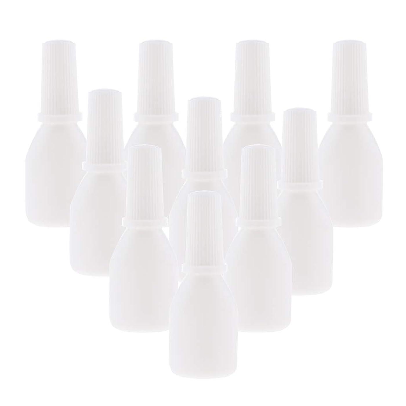 に向かって測る十分ではないPerfeclan 10個 スプレーボトル 空ボトル 詰め替え容器 小分け用 霧吹き ノズルチップ付 旅行用容器 20g