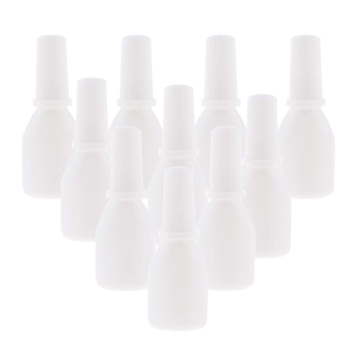 気まぐれな実際の気まぐれなPerfeclan 10個 スプレーボトル 空ボトル 詰め替え容器 小分け用 霧吹き ノズルチップ付 旅行用容器 20g