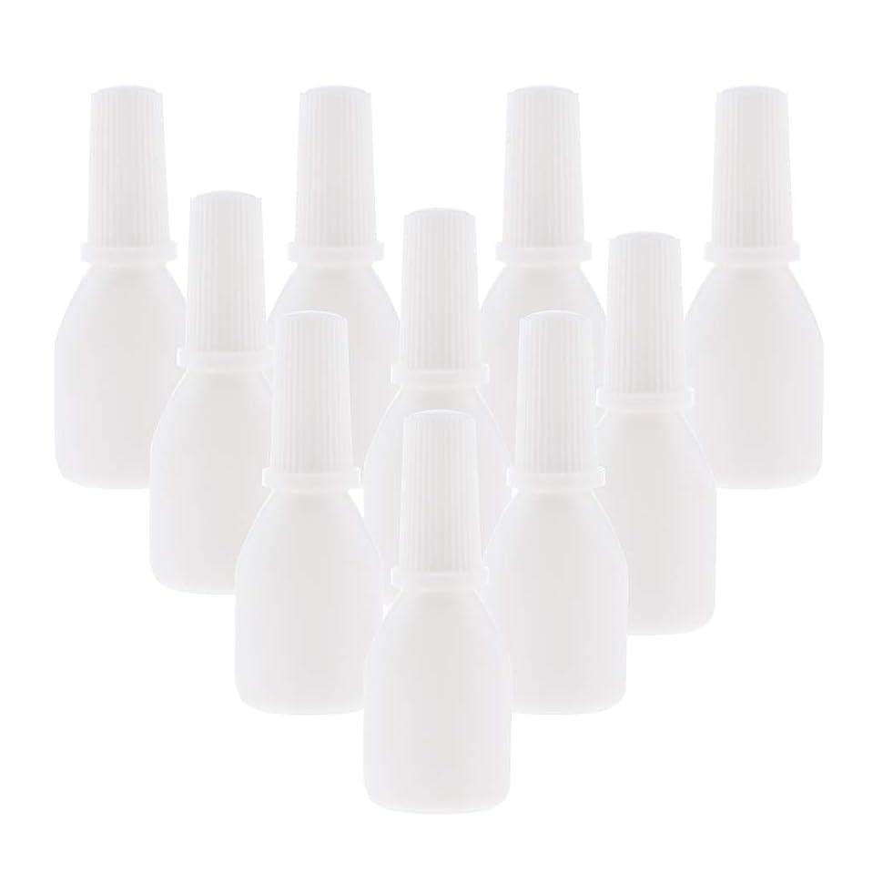 手数料アンソロジーそよ風Perfeclan 10個 スプレーボトル 空ボトル 詰め替え容器 小分け用 霧吹き ノズルチップ付 旅行用容器 20g