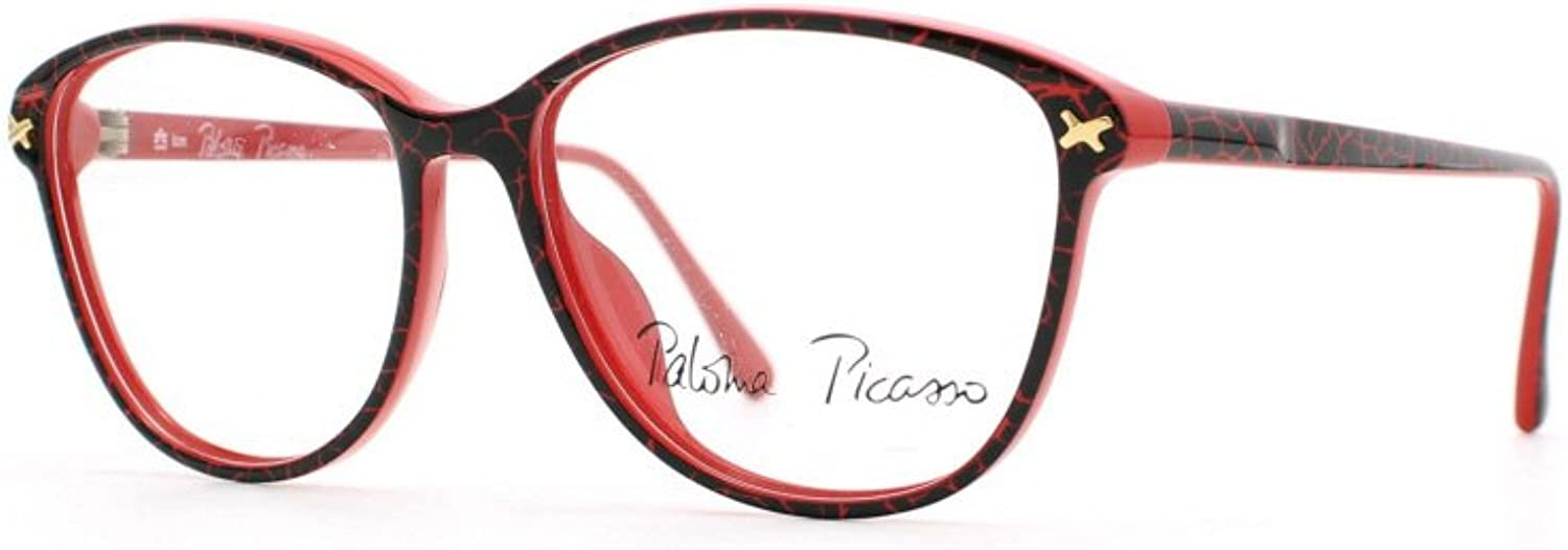 Paloma Picasso 3740 30 Red Authentic Women Vintage Eyeglasses Frame