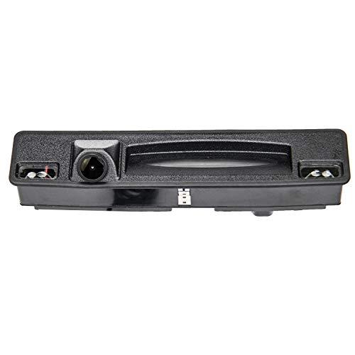 Videocamera di ricambio HD 1280 x 720p per retromarcia, con maniglia del bagagliaio, per Ford Sync2 y Sync3 Ford Escort Ford Focus 3 Hatchback CTCC Ecoboost 2015-2017