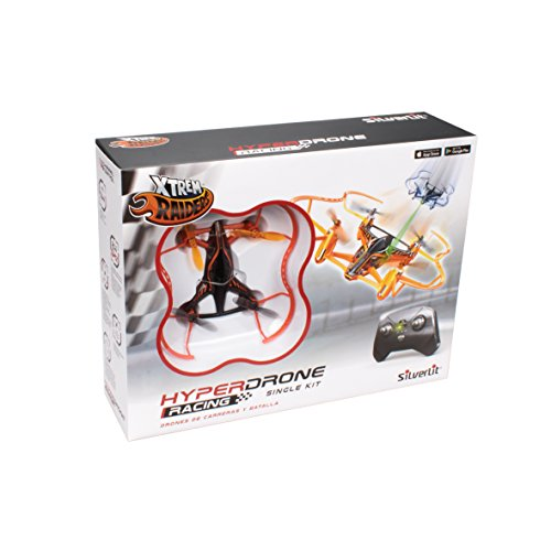 Exost 84780 Hyperdrone Single Pack 2,4 GHz, Mehrfarbig