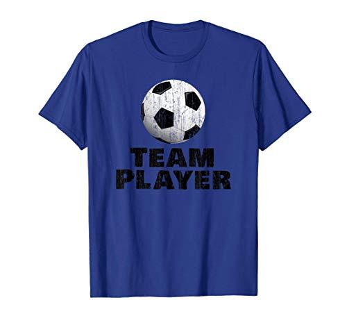 Giocatore di squadra-calcio-ragazzi-ispirazione Maglietta
