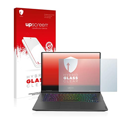 upscreen Hybrid Glass Panzerglas Schutzfolie kompatibel mit Lenovo Legion Y740 15
