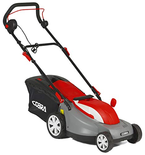 Cobra GTRM38 38cm Electric Lawnmower with Rear Roller