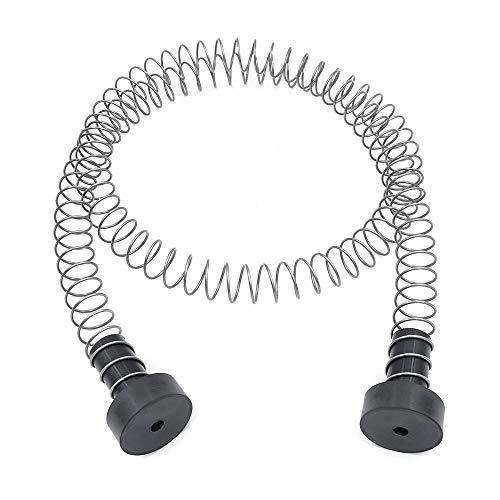 Zixar Zipline Stopper, Kids Backyard Zip Line Spring Stop/Brake Kit System 5.3ft, Zipline Parts for 3/16 1/4 5/16 3/8 Inches Cable
