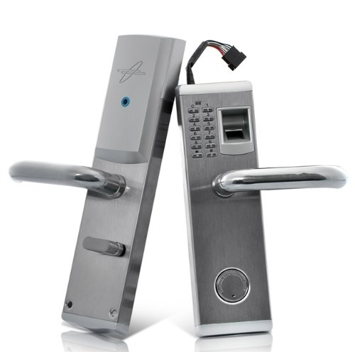 Tekit Biometric Fingerprint Door Lock 'Aegis' - Deadbolt, Right Handed Installation