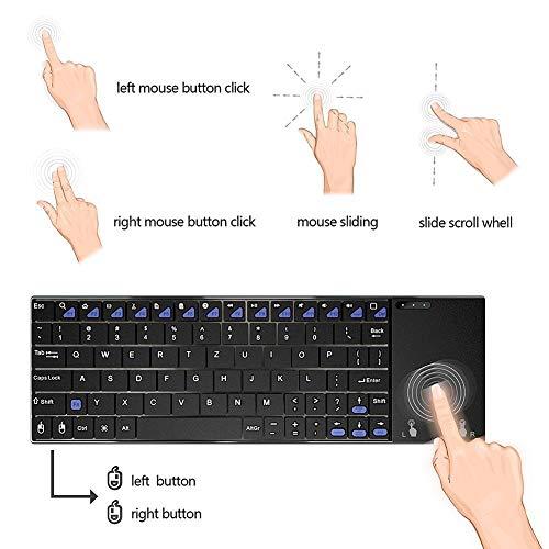 MINIX NEO K2, Kabellose Tastatur mit Touchpad. Direkt von MINIX® Technology Limited.