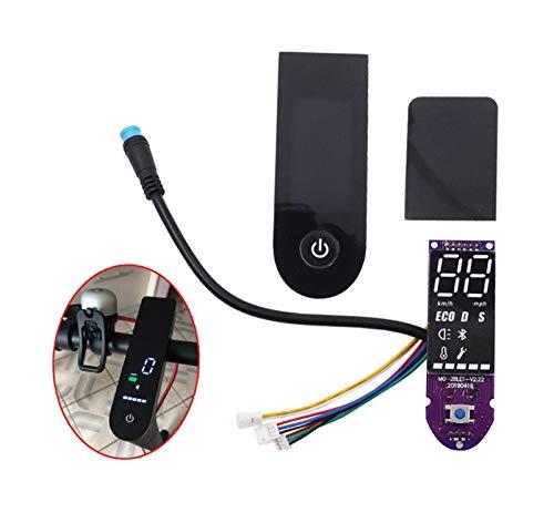 Tccic Versión de actualización Cubierta de Pantalla práctica Placa de Circuito Bluetooth Compatible con Xiaomi Electric Scooter Mijia M365 Scooter Parts