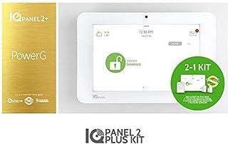 Qolsys IQ Panel 2 Security Alarm System – Home Security System – DIY Smart Home Security Panel – Optional Monitoring – User-Friendly Interface – Controls Lights, Locks, Thermostat – Emergency Alarm