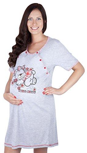 2 en 1 Camisón de maternidad & alimentación / amamantamiento 2055 I...