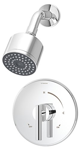 Symmons 3501-CYL-B Dia Shower System, Chrome