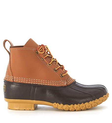 Boots 6 Bean gommatan Brown