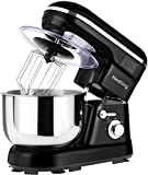 Nestling® 1200W Food Stand Mixer with 5L Mixing Bowl, 5 Speed Kitchen Electric
