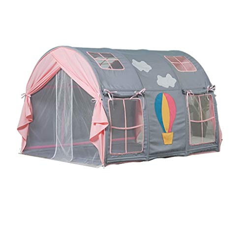 Tents Play for Toddlers, Indoor Sleeping for Children Bed Dome Girl's Hot Air Balloon Playhouse Den (Size : 120 * 140 * 95CM)