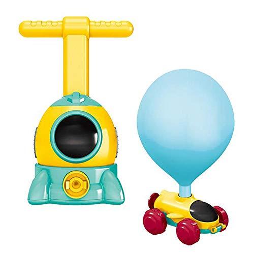 Mezojaoie kinderen ballon auto speelgoed, 2020 nieuwste macht ballon auto speelgoed kinderen traagheid macht ballon auto voor peuters kinderen vroeg onderwijs