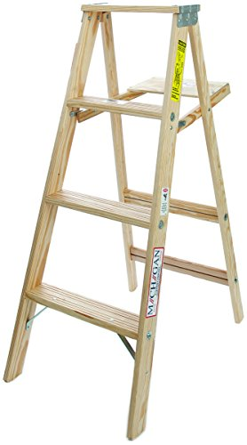 Michigan Ladder 48 in. H Wood Step Ladder Type III 200 lb.