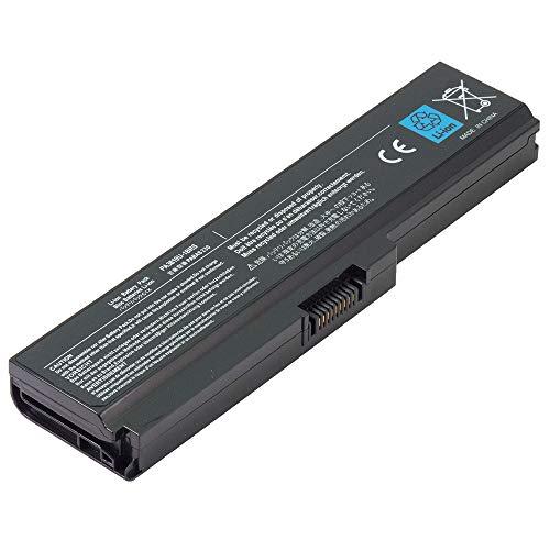 BattPit Battery for Toshiba PA3817U-1BRS PA3816U-1BRS PA3818U-1BRS PA3819U-1BRS PABAS228 Satellite C650 C650D C655 C660 C660D C670 C670D L600 L630 L645 L650 L655 [6-Cell/4400mAh/48Wh]