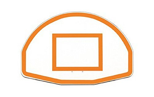 First Team 36' x 54' FT270 Fan-Shaped Aluminum Basketball Backboard