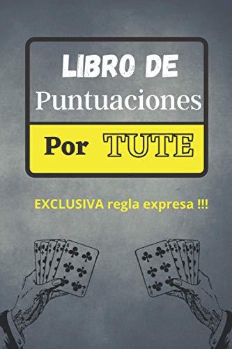 libro de puntuaciones por tute: ♠️ marcador para juegos de cartas españoles...