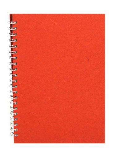 Pink Pig Posh Silk - Cuaderno de muestras (A4, formato vertical), color ocre de Siena