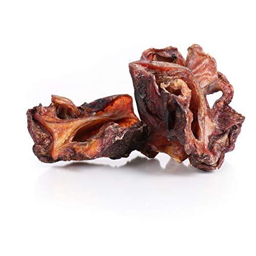 Grobys Futterkiste Rindernasenknorpel Rindernasen geschnitten, Verpackungseinheit:500 Gramm