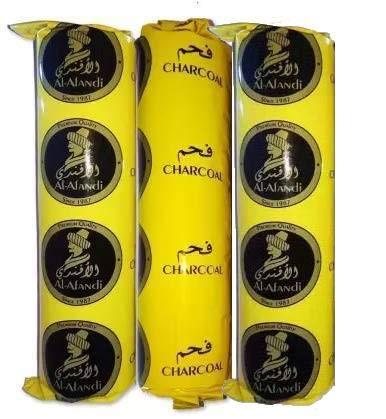 SCORIA Al-Fandi Pack of 3 Roll Hookah Charcoals (Pack of 3)