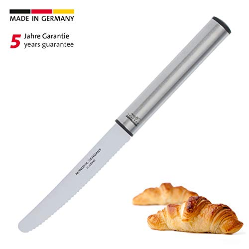 Westmark Vesper-/Steakmesser, Wellenschliff, Gesamtlänge: 23 cm, Rostfreier Edelstahl, Profi, Silber, 16925560
