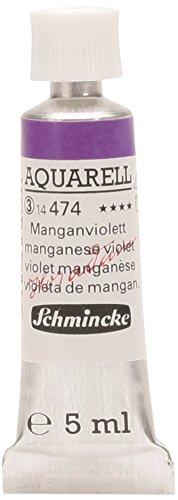 Schmincke 14474001 Horadam Watercolor 5 ml Manganese Violet